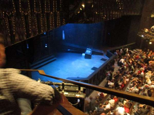 Barbican Theatre, section: Upper Circle, row: AA, seat: 11