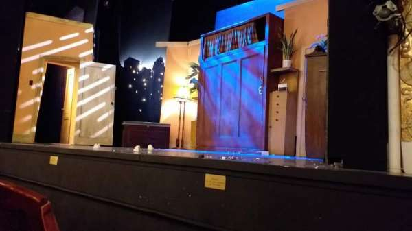 Criterion Theatre, section: Stalls, row: B, seat: 5