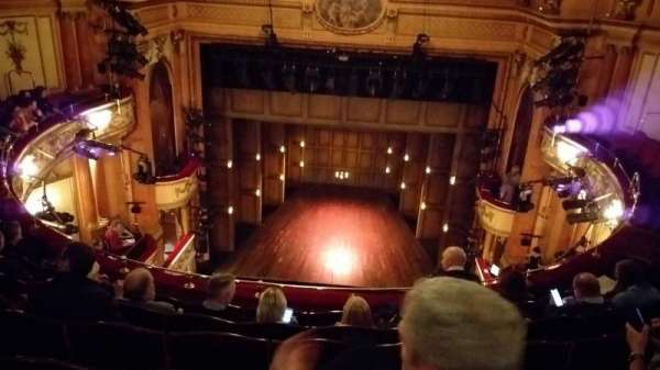 Gielgud Theatre, section: Grand Circle, row: F, seat: 13