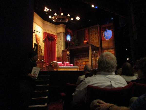 Duchess Theatre, section: Stalls, row: F, seat: 22