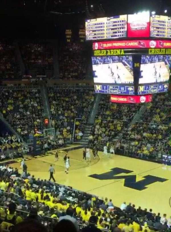 Crisler Center, section: 220, row: 28, seat: 1