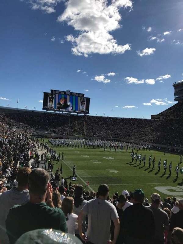 Spartan Stadium, section: 3, row: 23, seat: 43