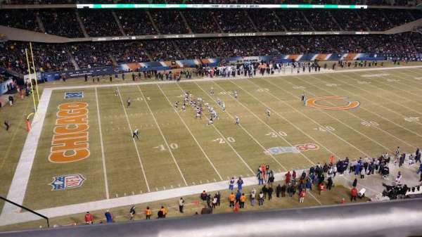 Soldier Field, section: 441, row: 1, seat: 6