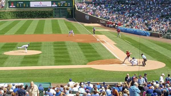 Wrigley Field, section: 215, row: 11, seat: 13