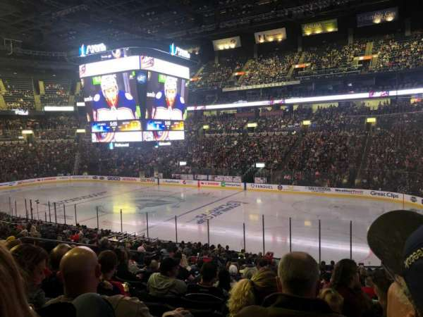 Nationwide Arena, section: 112, row: Y, seat: 17