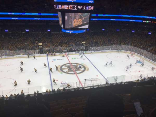 TD Garden, section: BAL 317, row: 8, seat: 8