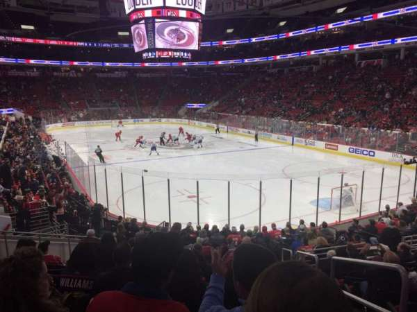 PNC Arena, section: 129, row: S, seat: 1