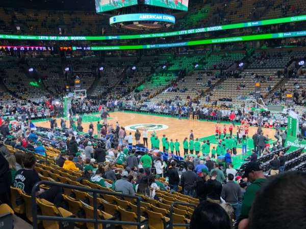 TD Garden , section: Loge 20, row: 18, seat: 18, 19