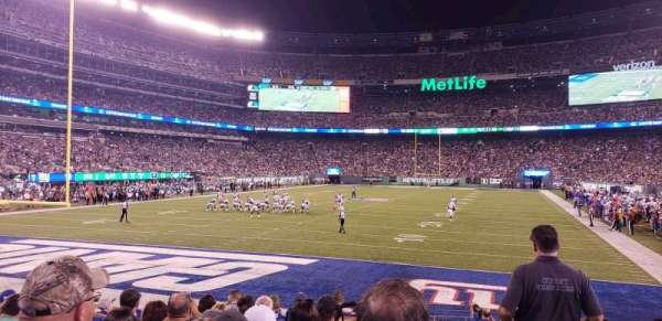 MetLife Stadium, section: 149, row: 10, seat: 1
