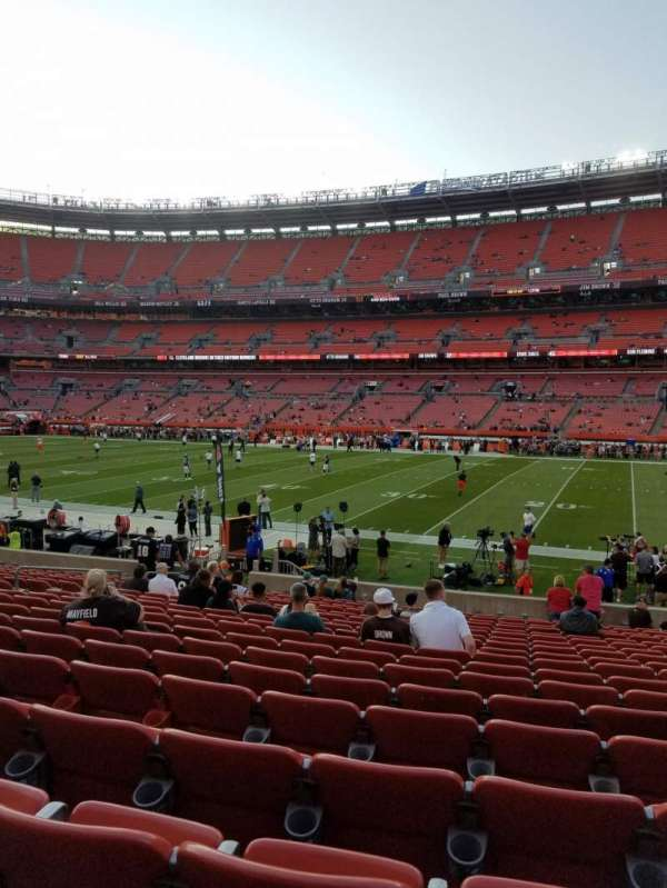 FirstEnergy Stadium, section: 111, row: 18, seat: 14