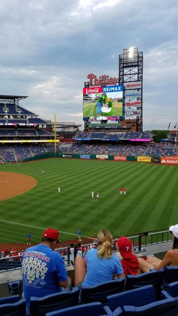 Citizens Bank Park, section: 209, row: 4, seat: 9