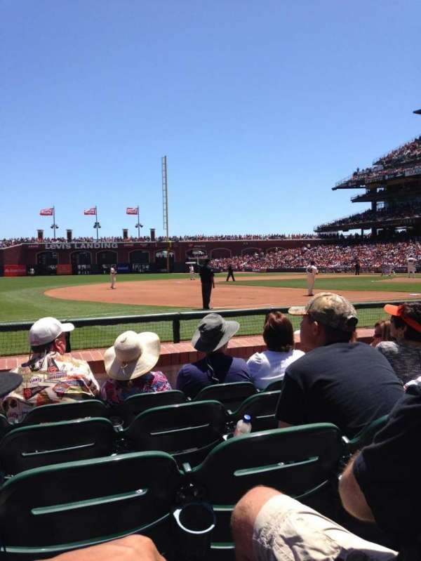 AT&T Park, section: 126, row: 5, seat: 7