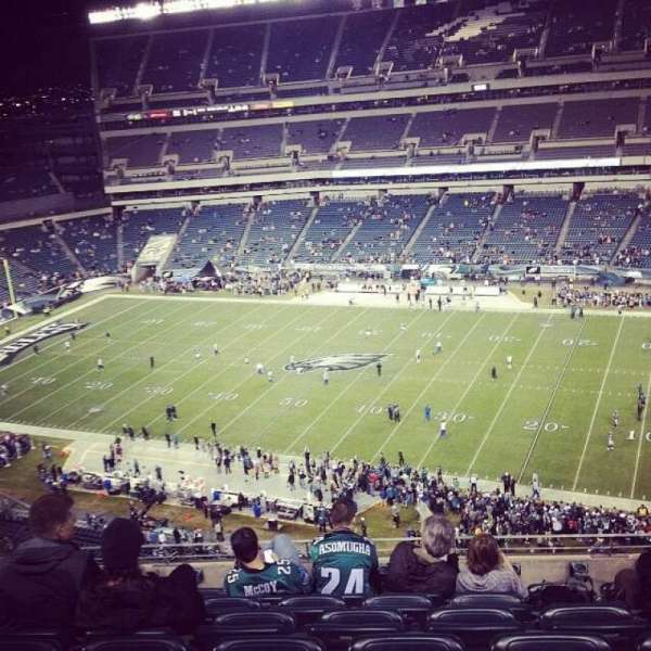 Lincoln Financial Field, section: 204, row: 11, seat: 22