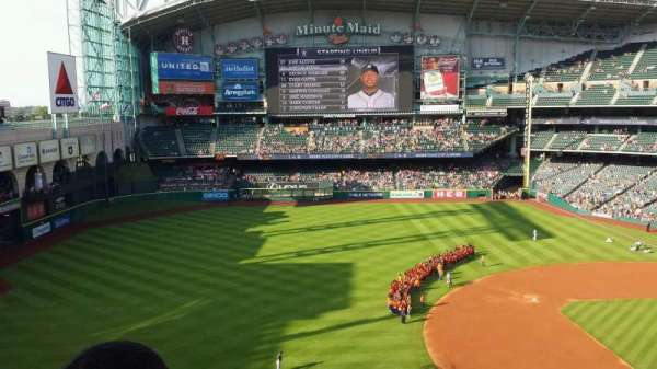 Minute Maid Park, section: 310, row: 2, seat: 7