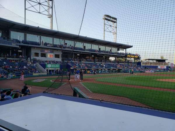 Dunkin' Donuts Park, section: 107, row: F, seat: 12