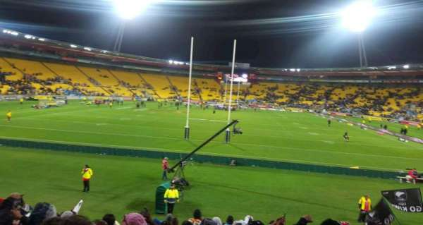 Westpac Stadium, section: 19, row: A, seat: 9