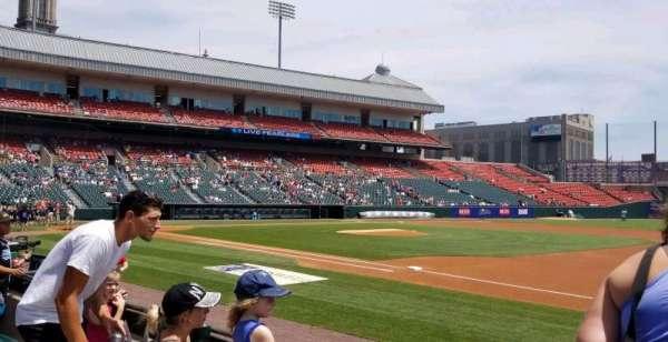 Sahlen Field, section: 116, row: D, seat: 10