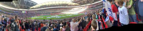 Wembley Stadium, section: 122, row: 22, seat: 318