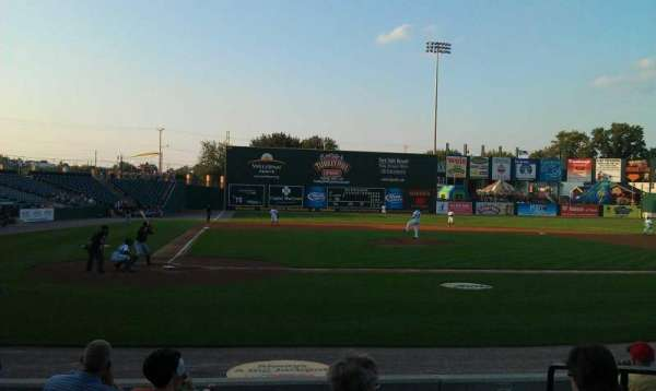PeoplesBank Park, section: 10, row: H, seat: 4