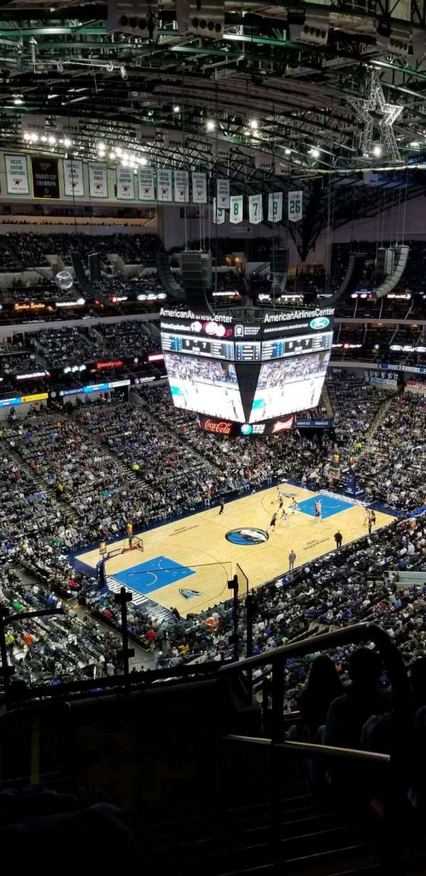 American Airlines Center , section: 331, row: L, seat: 1