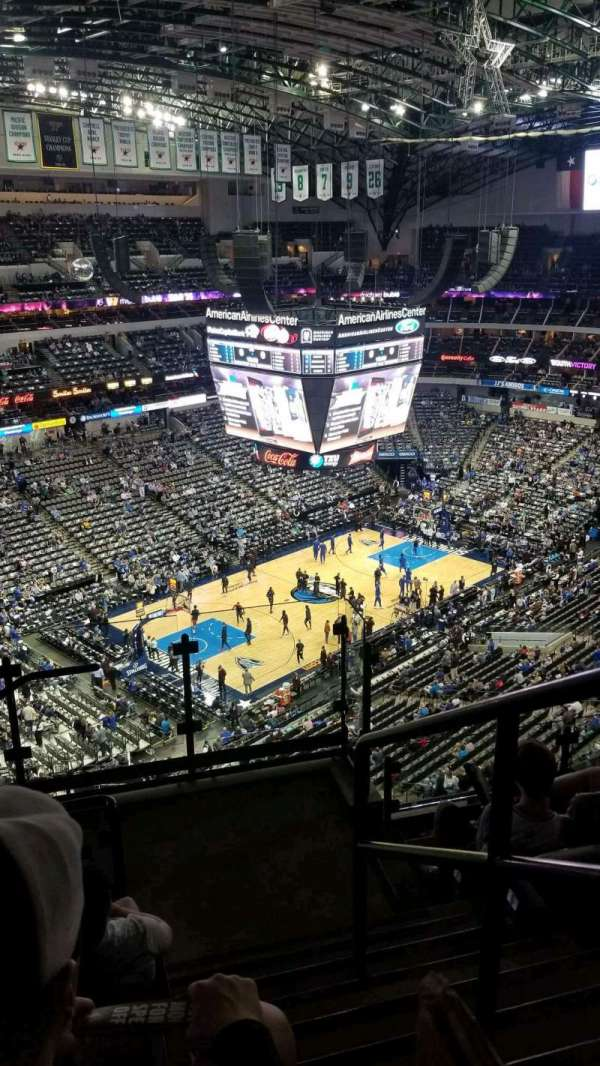 American Airlines Center, section: 331, row: K, seat: 1