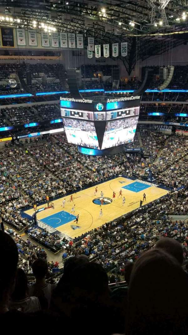 American Airlines Center, section: 331, row: k, seat: 23