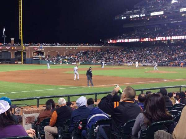 AT&T Park, section: 127, row: 12, seat: 2