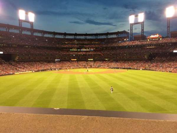 Busch Stadium, section: SBP, row: A, seat: 53
