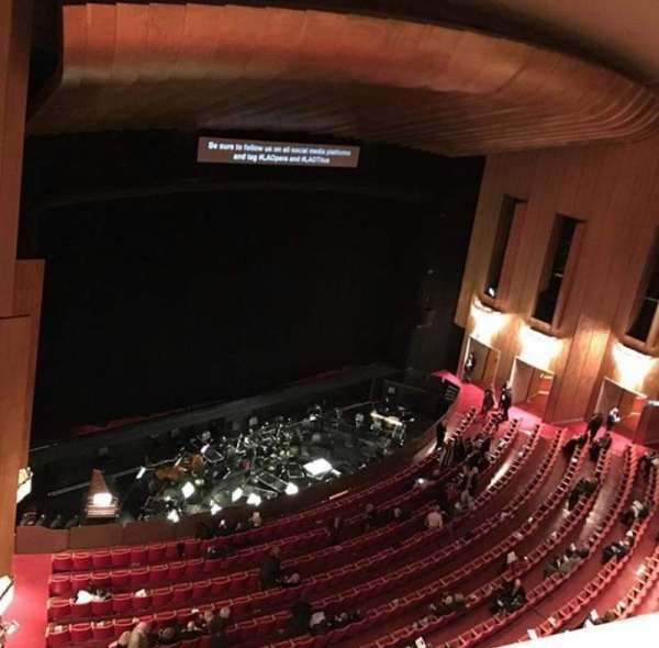 Dorothy Chandler Pavilion, section: Balcony A