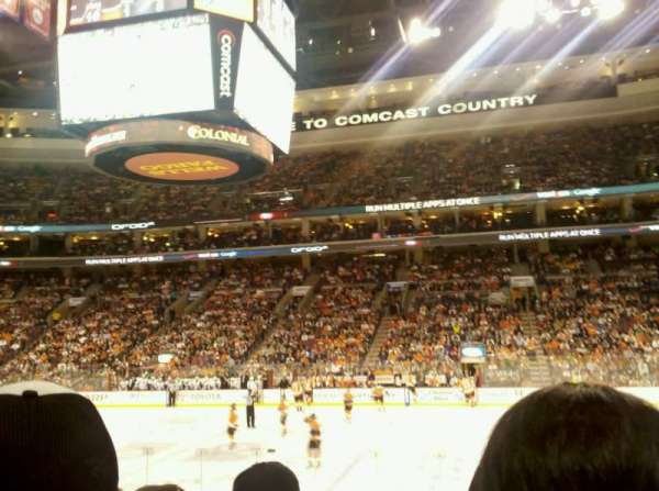 Wells Fargo Center, section: 114, row: 15, seat: 17