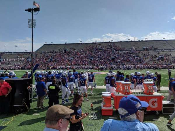 David Booth Kansas Memorial Stadium, section: 6, row: 3, seat: 5