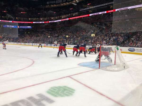 Nationwide Arena, section: 121, row: A, seat: 5