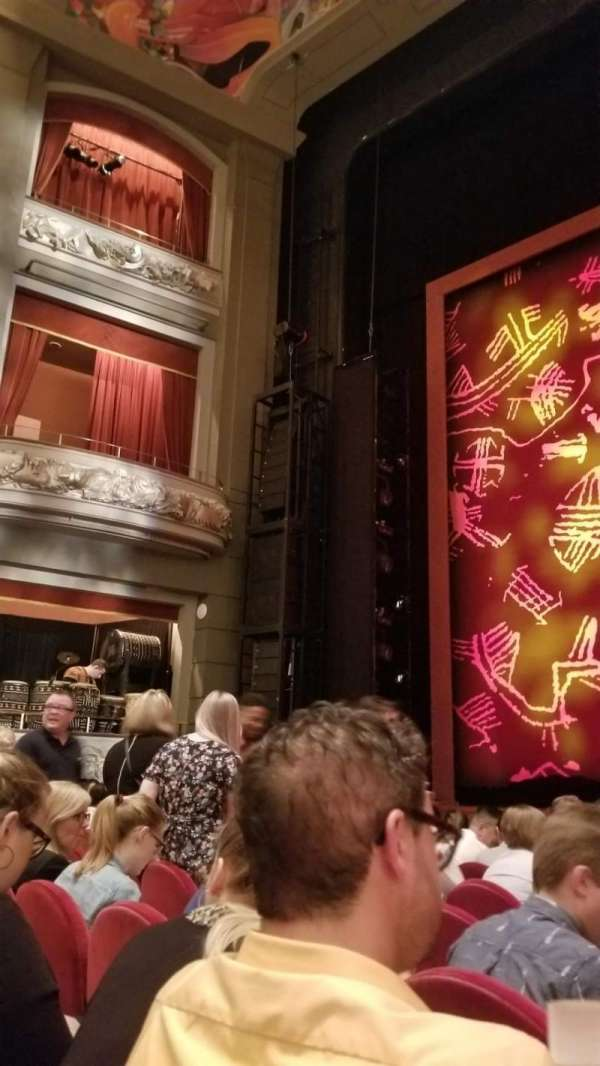 Princess of Wales Theatre, section: Orchestra, row: HH, seat: 27