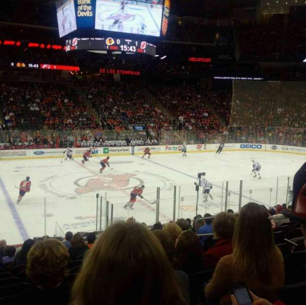 Prudential Center, section: 18, row: 17, seat: 7