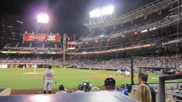PETCO Park, section: 108, row: 9, seat: 1