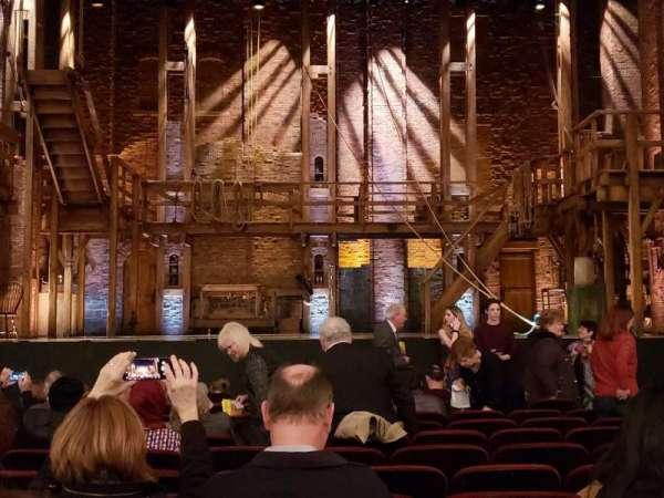 CIBC Theatre, section: Orchestra C, row: M, seat: 107