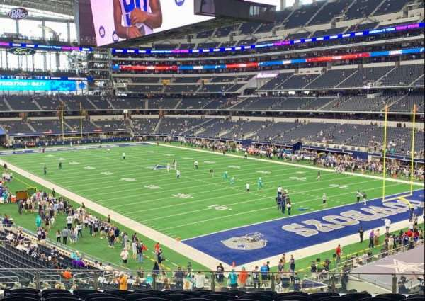 AT&T Stadium, section: 227, row: 10, seat: 14