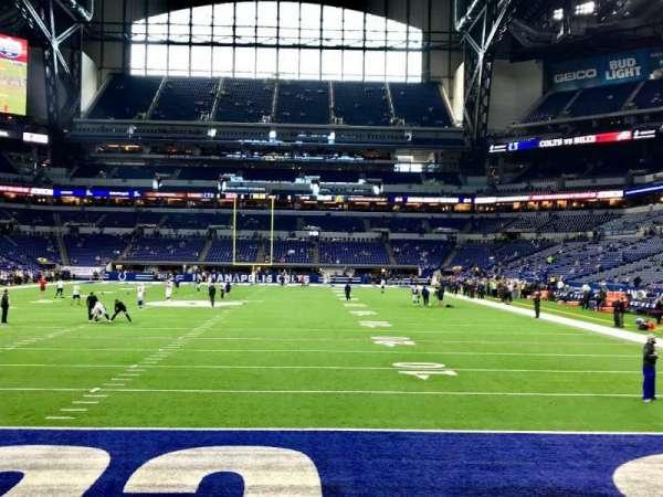 Lucas Oil Stadium, section: 153, row: 4, seat: 9