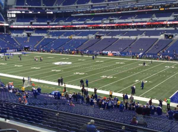 Lucas Oil Stadium, section: 235, row: 5, seat: 5