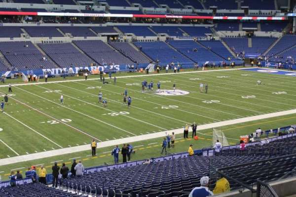 Lucas Oil Stadium, section: 217, row: 8, seat: 13