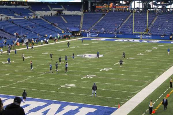Lucas Oil Stadium, section: 223, row: 12, seat: 1