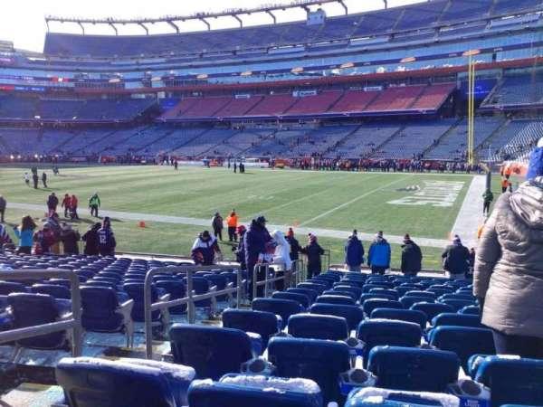 Gillette Stadium, section: 104, row: 15, seat: 24