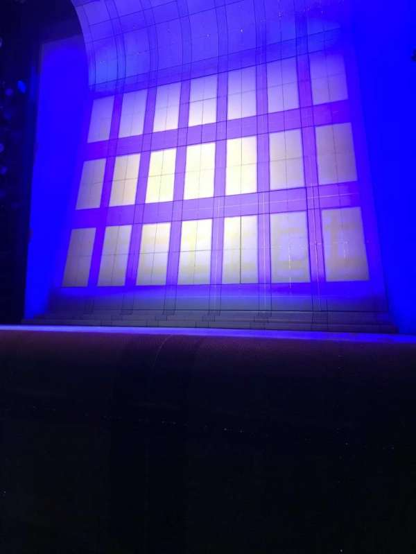 Alice Griffin Jewel Box Theatre, section: Orchestra R, row: B, seat: 4