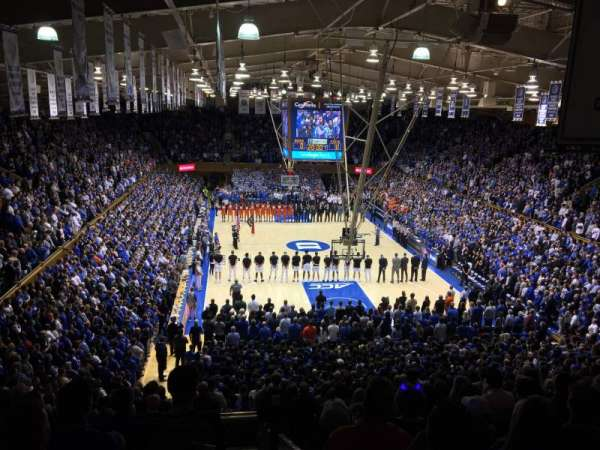 Cameron Indoor Stadium, section: 2, row: O, seat: 2