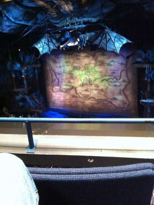 Gershwin Theatre, section: FMezz, row: B, seat: 10