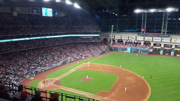 Minute Maid Park, section: 427, row: 1, seat: 13