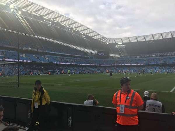Etihad Stadium (Manchester), section: 114, row: 3, seat: 361