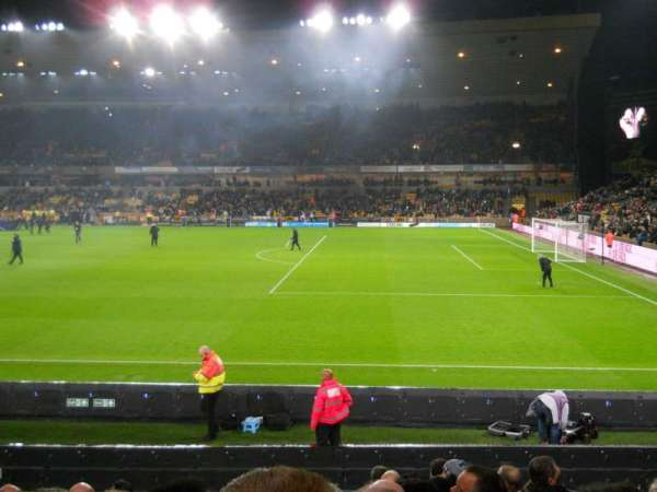 Molineux Stadium, section: JL3, row: M, seat: 64