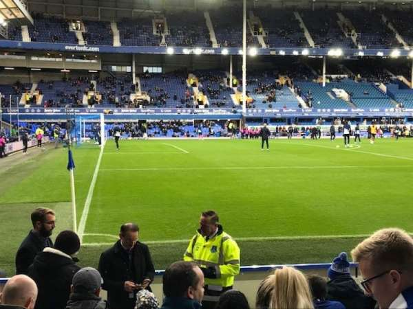 Goodison Park, section: LV3, row: 10, seat: 22