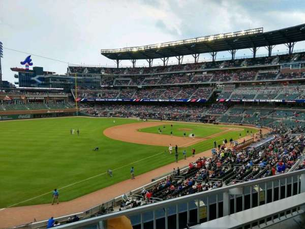 SunTrust Park, section: 240, row: 2, seat: 15